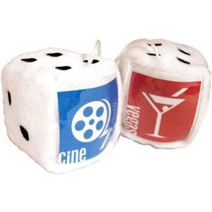 Las Vegas Themed Promotional Items - Stuffed Dice