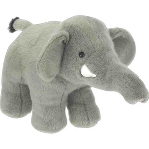 Custom Imprinted Elephant Mascot Plush Stuffed Animals