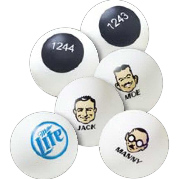 Custom Imprinted Ping Pong Balls and Table Tennis Balls