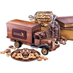 Vehicle Themed Food Gifts - Tank Truck Vehicle Themed Food Gifts
