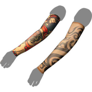 Custom Imprinted Tattoo Arm Sleeves!