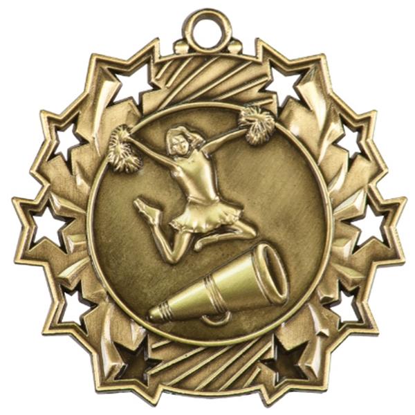Custom Made Cheerleading Sunray Medals!