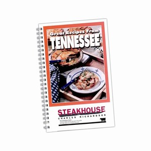 Custom Made Tennessee State Cookbooks