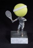 Stock Sports Bobbleheads - Tennis Ball Head Bobble Heads
