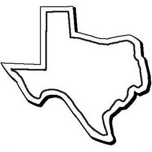Custom Imprinted Texas Shaped Magnets