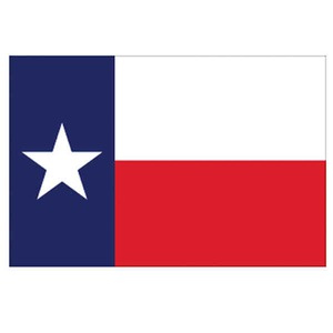 Custom Imprinted Texas State Flags