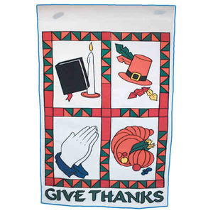 Thanksgiving Themed Promotional Items - Thanksgiving Holiday Flags