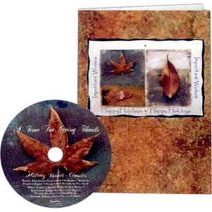 Thanksgiving Themed Promotional Items - Thanksgiving Holiday Music Cds