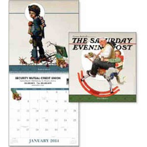 Custom Imprinted The Saturday Evening Post Executive Calendars