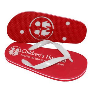 Custom Imprinted The Varsity Surf Flip Flop Sandals