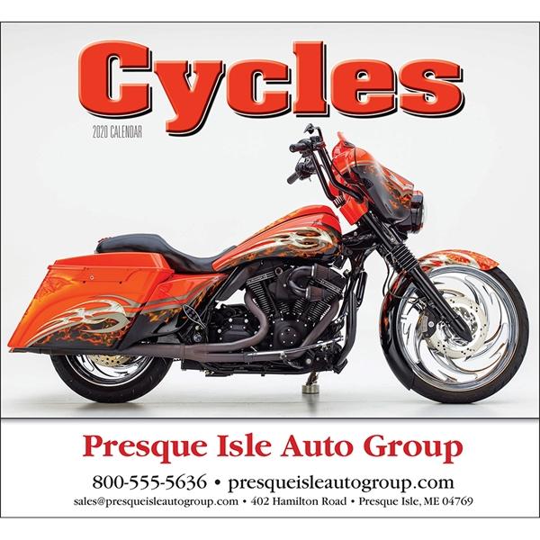 Custom Printed Motorcycle Mania Wall Calendars!