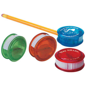 Custom Imprinted Thumb Slide Pencil Sharpeners