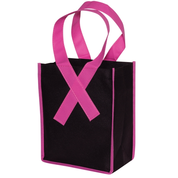 Custom Imprinted custom-imprinted-awareness-ribbon-bags