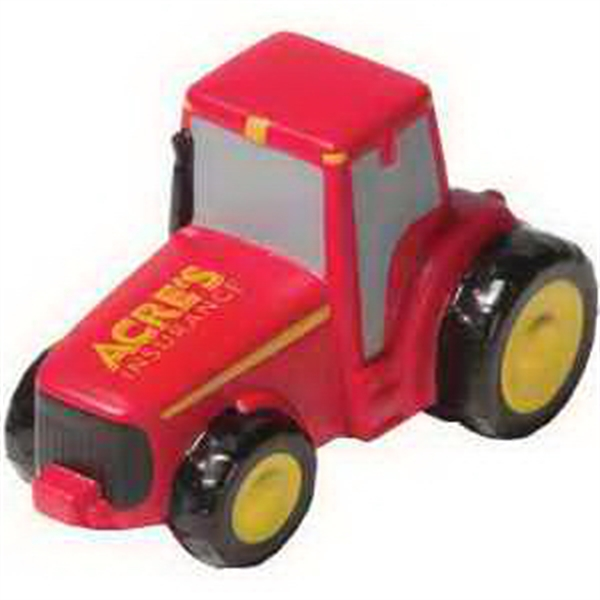 Custom Imprinted Tractor Shaped Stress Relievers!