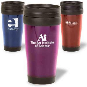 Translucent Color Travel Mugs -