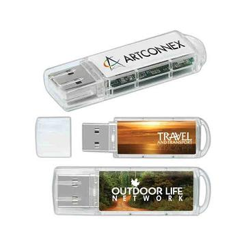 Custom Imprinted Translucent USB Drives