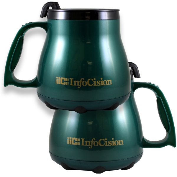 Gift Bagged Stainless Steel Travel Mugs -