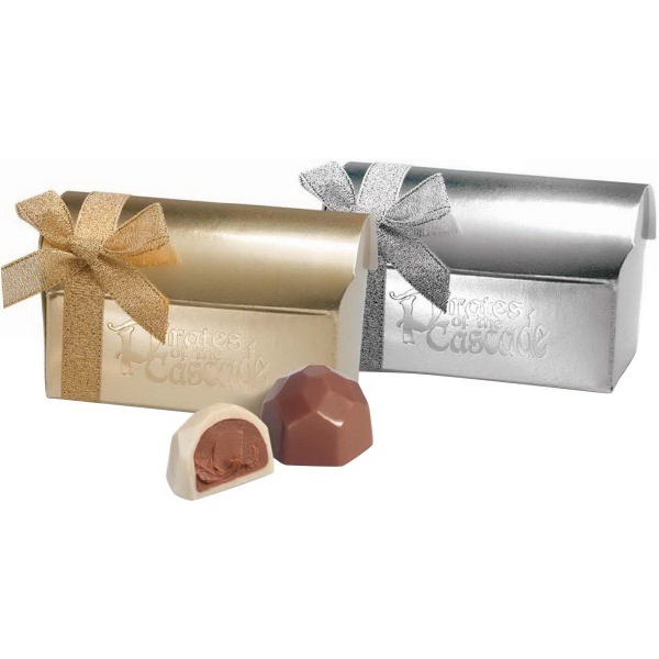 Personalized Chocolate Filled Treasure Chests!