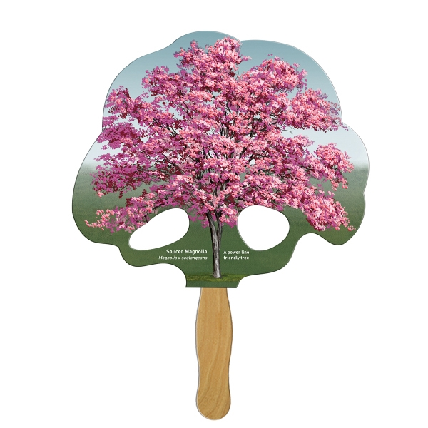 Stock Shaped Paper Fans -
