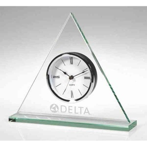 Custom Printed Triangle Shaped Clocks