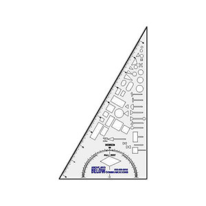 Triangle Shaped Promotional Items - Triangle Shaped Drawing Instruments