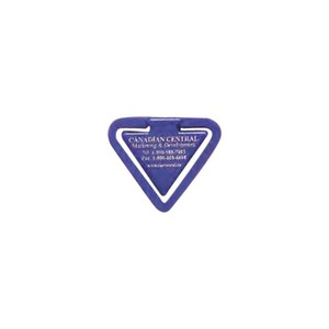 Triangle Shaped Promotional Items - Triangle Shaped Paperclips