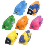 Custom Imprinted Tropical Fish Shaped Stress Relievers!