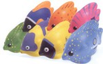 Custom Imprinted Luau Fish Shaped Stress Relievers!
