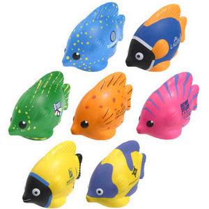 Luau Themed Promotional Items - Luau Fish Shaped Stress Relievers