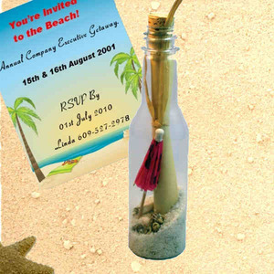Message in a Bottles - Tropical Resort Message in a Bottles