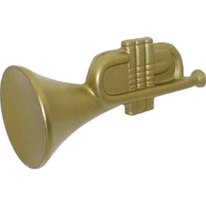 Custom Decorated Trumpet Shaped Stress Relievers