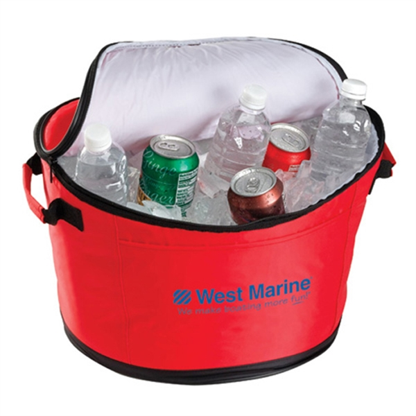 Custom Decorated Canadian Manufactured Beverageware Tubs!