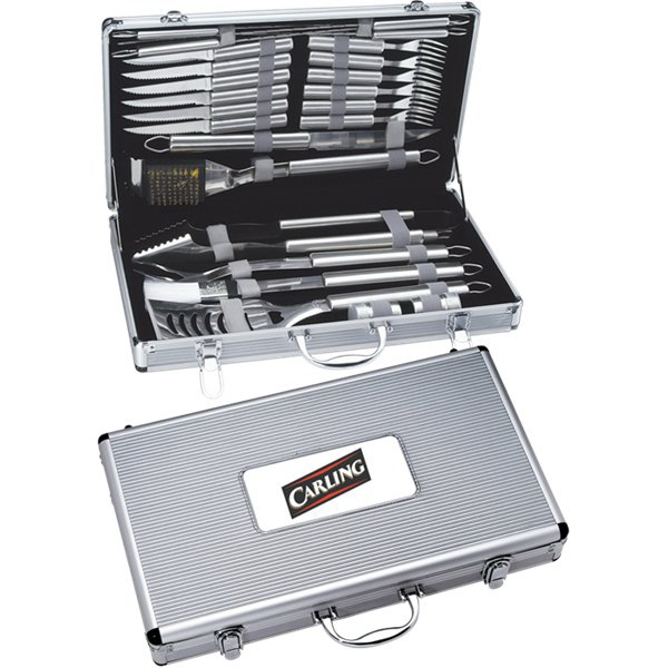 Personalized Canadian Manufactured 5 Piece Titanium BBQ Sets