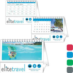 Custom Printed Twin Looped Desk Custom Calendars