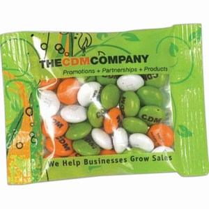 Customized Two Ounce Full Color Imprint M&M Chocolate Candy Packages!