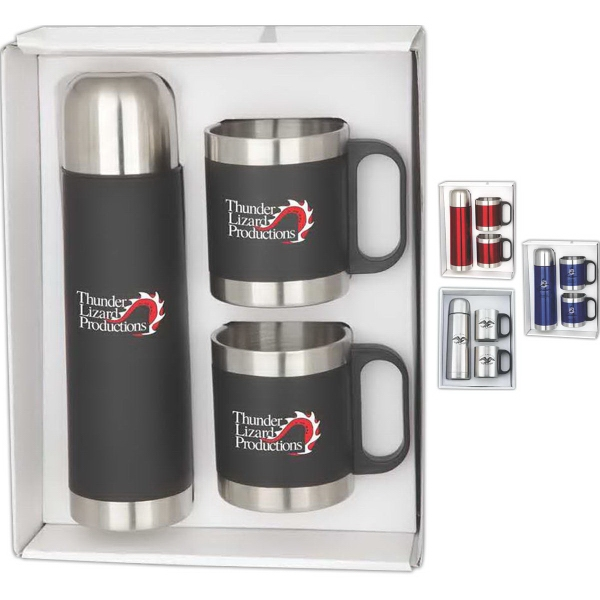 Custom Imprinted Gift Boxed Thermoses!