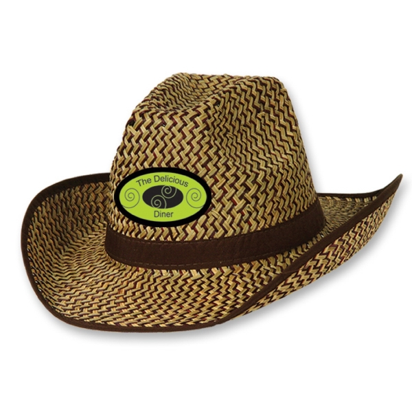 Custom Imprinted Full Color Imprinted Cowboy Hats!