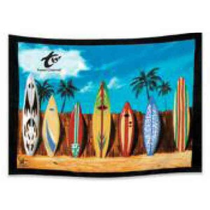 Custom Printed Ultra-size Fiber Reactive Beach Towels!