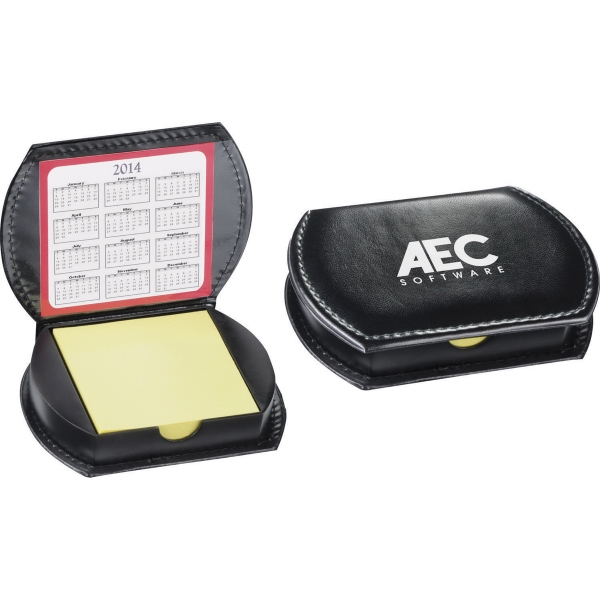 1 Day Service Desk Accessories - 1 Day Service Deluxe Refillable Leatherette Memo Cases