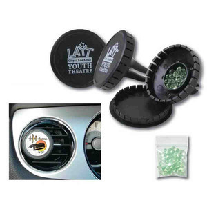 Custom Imprinted Vent Clip Automotive Air Fresheners