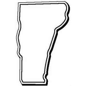 Vermont State Shaped Promotional Items - Vermont Shaped Magnets