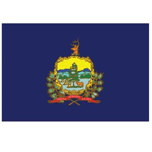 Vermont State Shaped Promotional Items - Vermont State Flags