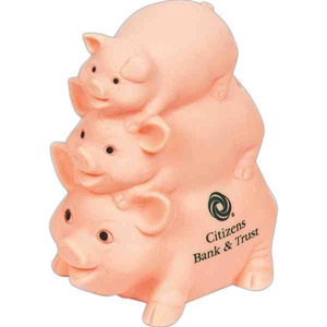Custom Decorated Vinyl Piggy Banks!