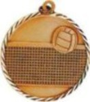 Volleyball Medals - Volleyball Sunray Medals