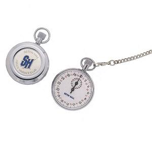 Custom Imprinted Silvertone Stopwatches