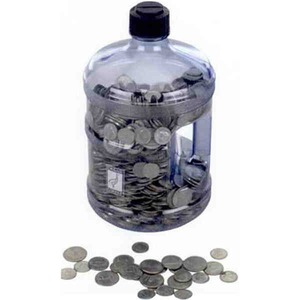 Custom Imprinted Water Jug Banks