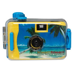 Custom Imprinted Waterproof Disposable Cameras