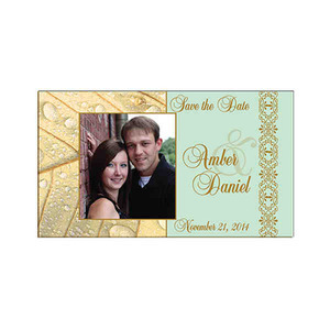 Wedding Theme Items - Wedding Favor Save the Date Magnets