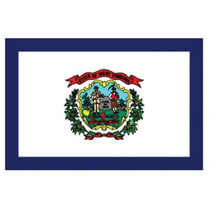 West Virginia State Shaped Promotional Items - West Virginia State Flags