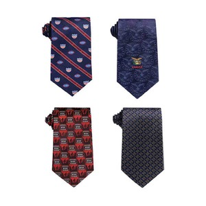 Custom Imprinted Wet Dyed Polyester Ties!
